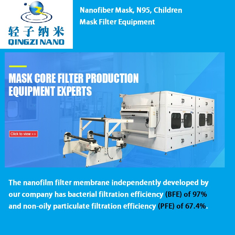 Nanofiber Mask, N95, Children Mask Filter Equipment