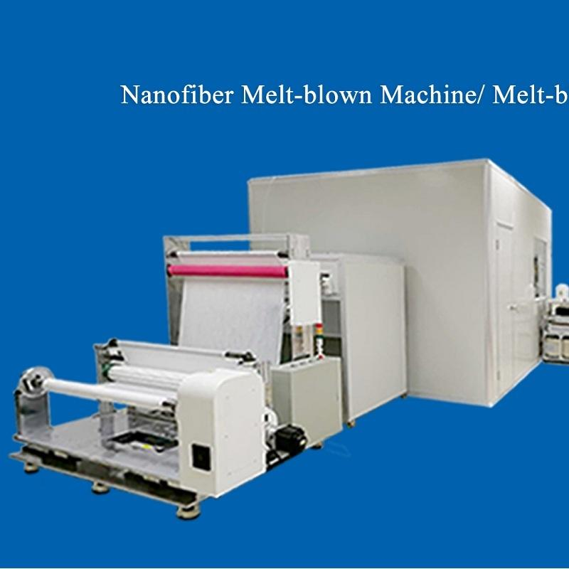 How To Save The Low Filtration Efficiency Melt-blown Fabric - There Is A Nano-fiber Melt-blown Machine!