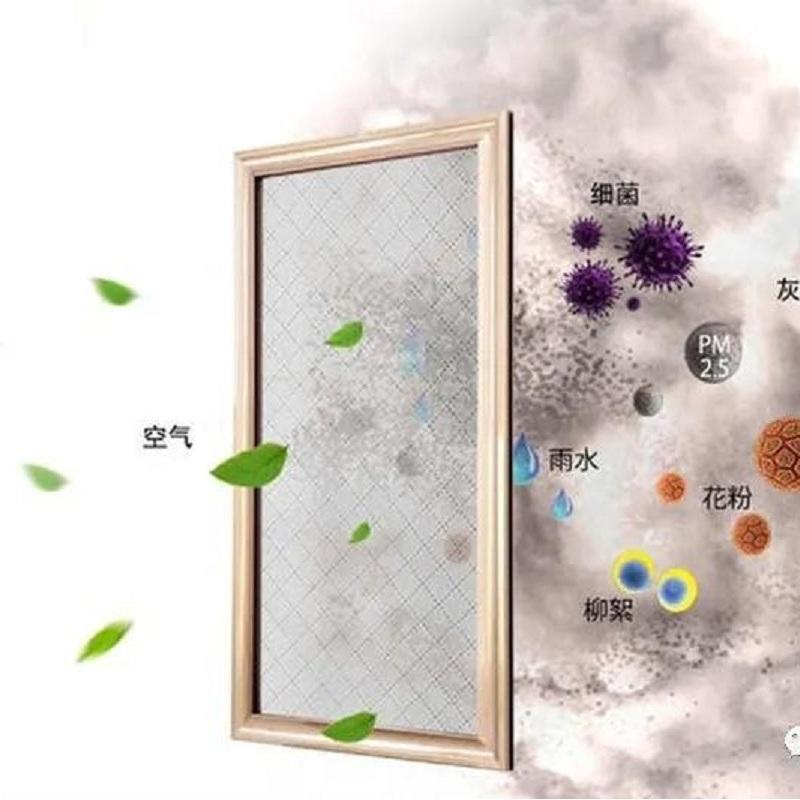 Electrospinning Nanofiber Anti-haze Window Screen