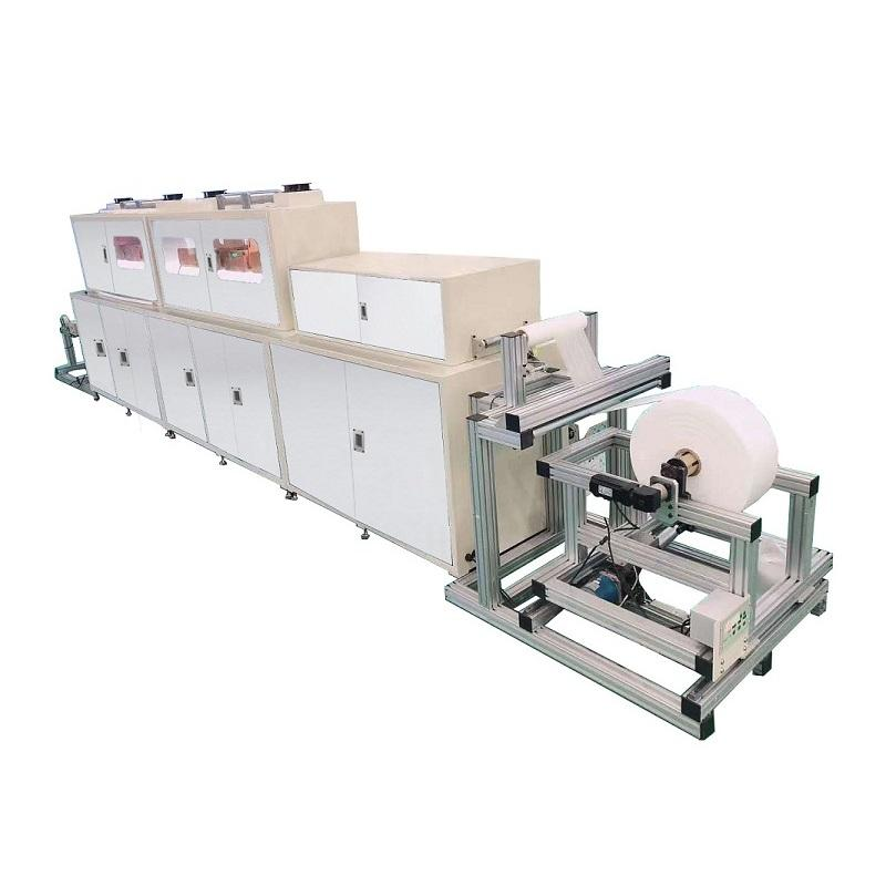 MIDDLE-SCALE NANOFIBER PRODUCTION LINE MF05-001