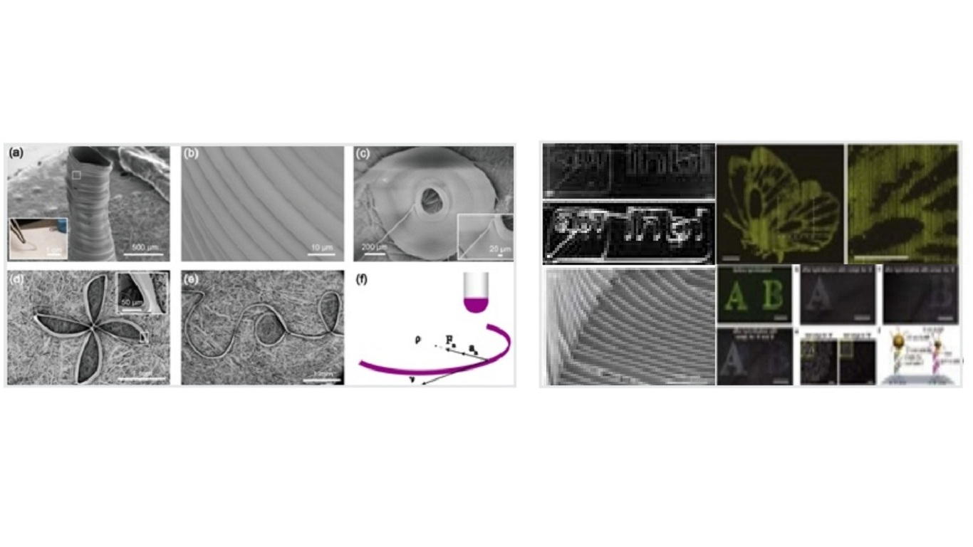NEAR-FIELD ELECTROSPINNING TECHNOLOGY SAMPLES