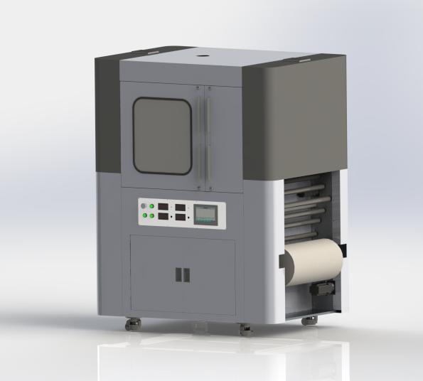 Efficient Needle-free Spinning Nanofiber Production Line MF01-004