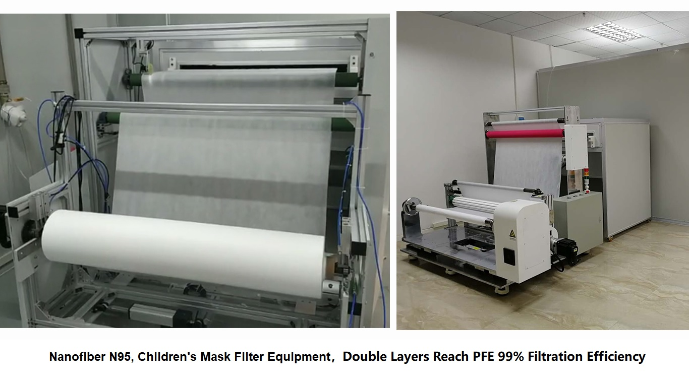 Nanofiber N95, Children's Mask Filter Equipment